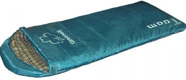 Спальный мешок Nova Tour Туам (зеленый, правый)