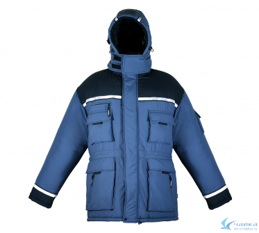 Куртка Эверест нейлон (цвет синий)
