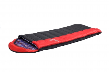 Спальный мешок Indiana Maxfort Plus L-zip от -15C (одеяло с подголов фланель195+35X90 см)