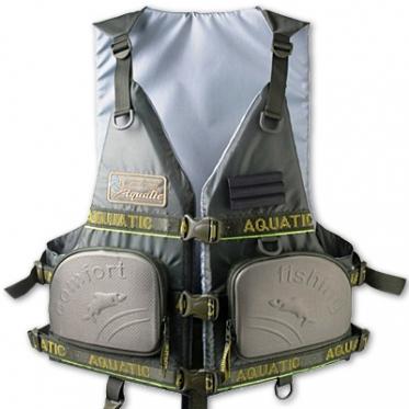Жилет Aquatic ЖС-03 (рыболовный страховочный)