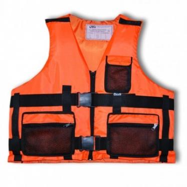 Спасательный жилет (Стандарт-В, 3 кармана) (92001) (Р-р XXXL)