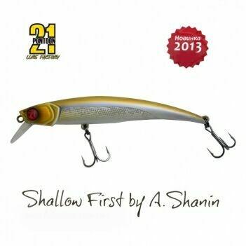Воблер Pontoon21 Shallow First 100F-SR A30