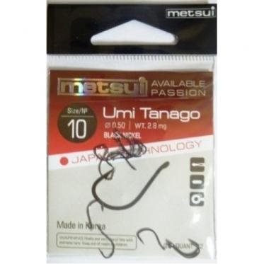 Крючки Metsui Umi Tanago new (цвет bln, №12)