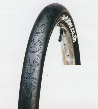 B33101 Велопокрышка MTB VEE PREMIUM мод. TWINZ серия MTB 26х2.125 с кортом 27
