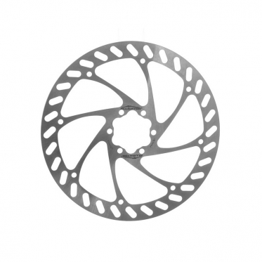 HK-R01-DIY, ротор Alligator Pizza для дискового тормоза 160 мм, серебр.