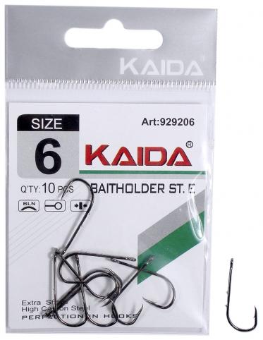 Крючки Kaida Baitholder №9 (10шт)