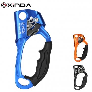 Зажим ручной Xinda Жумар под правую руку HSS02 (цвет голубой)