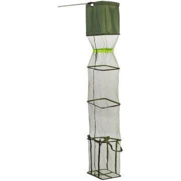 Садок спортивный, прямоугольный 32х42 см, 2м Helios (HS-CS-200)