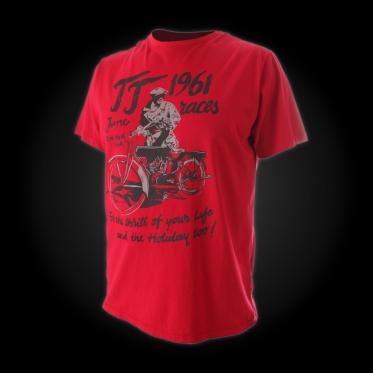 Футболка мужская TR-1693SI (цвет red)