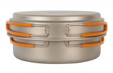 Кастрюля с крышкой 950 мл NZ Ti Cookware 950 ml TS-016