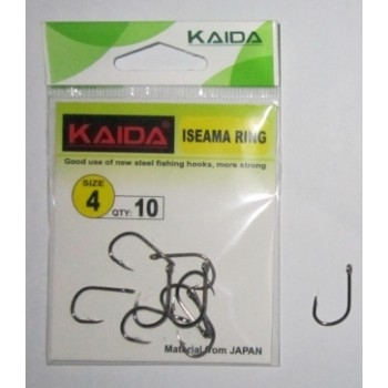 Крючки Kaida Isimea ring №10 (10шт)