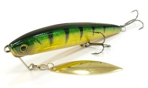Воблер Lucky Craft Blade Cross Bait 90-280 Aurora Green Perch
