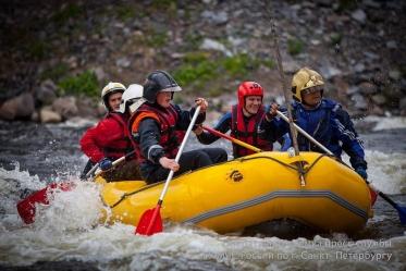 Надувной Рафт 18F для сплава по рекам