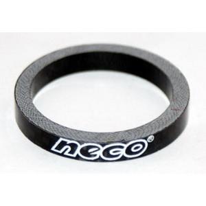 AS 3505 BK, Алюминиевое кольцо Neco 1 1/8, 5 мм, черное