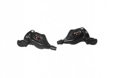 DLM3373000BX Комплект шифтеров SunRace двойного действия M33, R7/L3 с тросом переключения