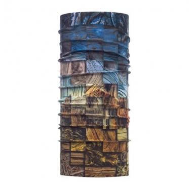 Бандана Buff High UV Protection Wood Collage Multi