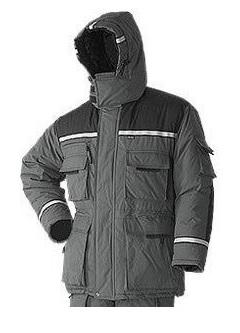 Куртка Эверест нейлон (цвет серый)