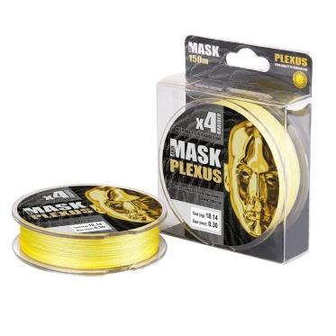 Леска плетёная AKKOI Mask Plexus 150m (yellow)