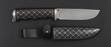 Нож Bobr сталь Elmax (деревянные ножны)