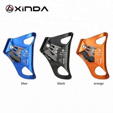 Зажим страховочный Xinda для веревки 8-12 мм HXS03 (чёрный)