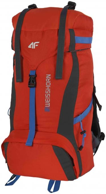 Рюкзак походный 4F C4L14-PCG003B 65л, цвет RED PROFI