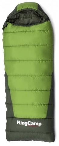 Спальник EXPLORER 300 HollowFibre (-10C, зеленый, правый)