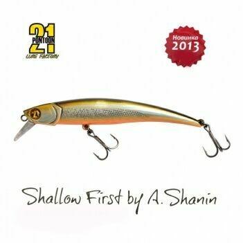 Воблер Pontoon21 Shallow First 100F-SR A60