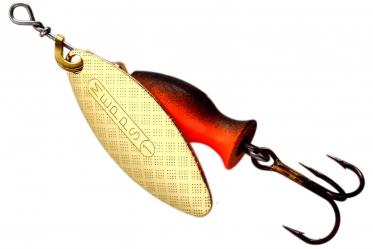 Блесна MEPPS Aglia Long Heavy №1 Gold-Black/Orange
