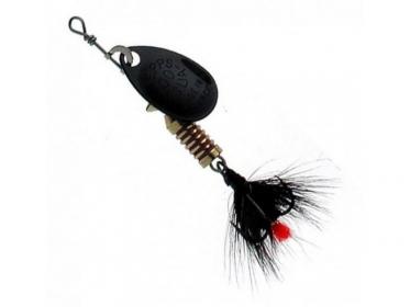 Блесна Mepps AGLIA MOUCHE, № 00 цв. чёрный / черная муха