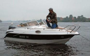 GRIZZLY 580 Cruiser (на комплект с мотором скидка 10% на лодку)