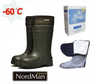 Сапоги мужские из ЭВА NordMan Extreme  ПЕ-16 УММ (до - 60)