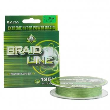 Шнур Kaida Braid Line 135м