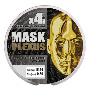 Плетеный шнур AKKOI Mask Plexus X4-150 Green