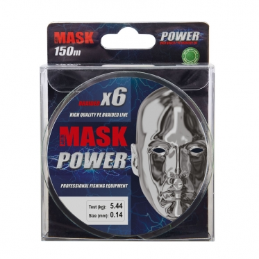 Плетеный шнур AKKOI Mask POWER X6-150 Light-green