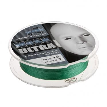 Плетеный шнур AKKOI Mask Ultra X4-130 Green