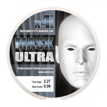 Плетеный шнур AKKOI Mask Ultra X4-130 Orange