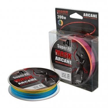 Плетеный шнур AKKOI Mask Arcane X4-200