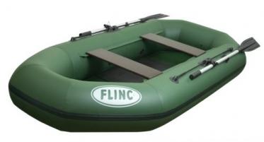 Надувная гребная лодка ПВХ FLINC 260L