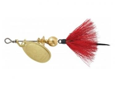 Блесна Mepps AGLIA MOUCHE, № 1 цв. золото / красная муха