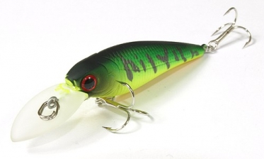 Воблер Lucky Craft Bevy Shad 50SP_0808 Mat Tiger 735