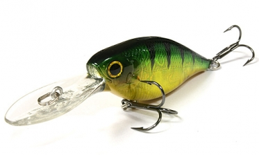 Воблер Lucky Craft US Shad 65-280 Aurora Green Perch