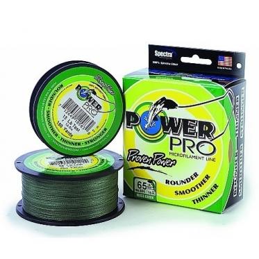 Шнур PowerPro 135м цвет зеленый
