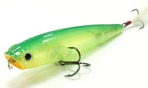 Воблер Lucky Craft Gunfish 115-123 Ghost Lime Chart