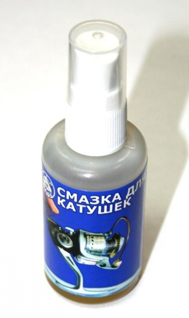 Смазка для катушек Три Кита ( 50ml.)