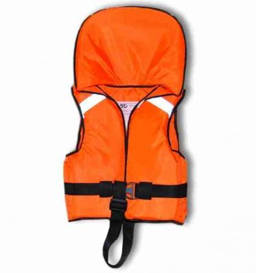 Жилет спасательный детский Дон РР (87001) подголовник от 2-х до 4-х лет