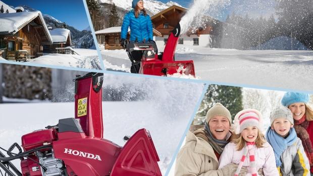 Готовимся к зиме вместе с Honda